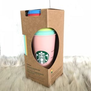 STARBUCKS Color Changing Cups 5 Pack ✨